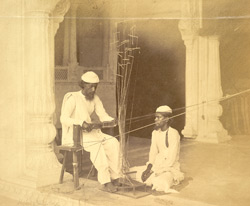 Zunlozis, Gold lace makers, Delhi
